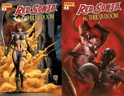 Dynamite® Red Sonja Vs  Thulsa Doom #1 (Of 4) - (Random Fill)