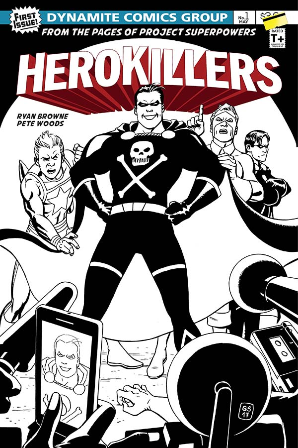 Dynamite® Project Superpowers: Hero Killers #1