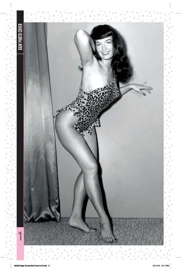 Dynamite® Bettie Page: The Dynamite Covers